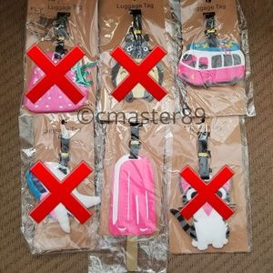 Popsicle Travel Van Surf Vacation Luggage Tags